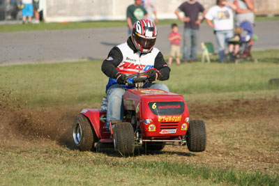 Lawn Mower Drag Racing - The American Survival Guide   Surviving